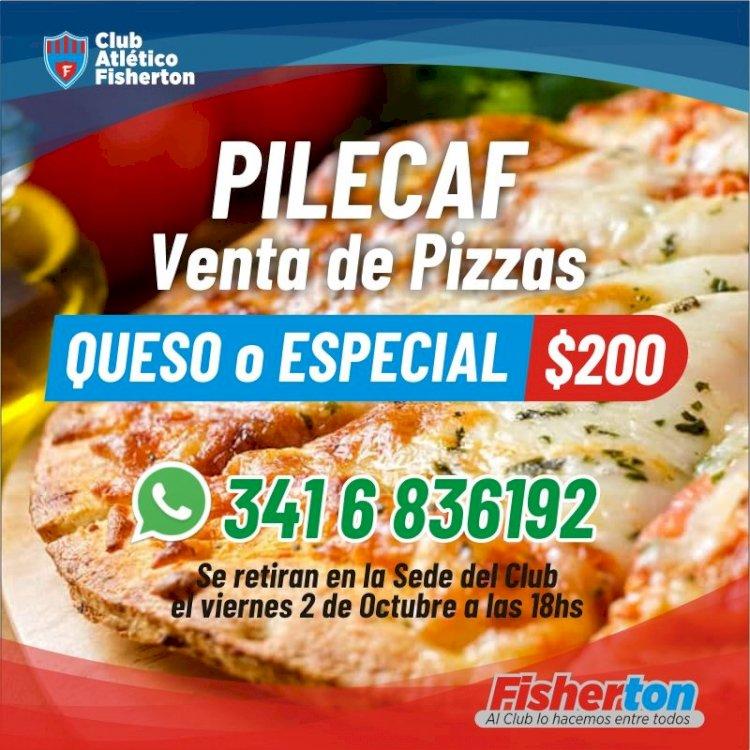 Venta de Pizzas de la PileCAF