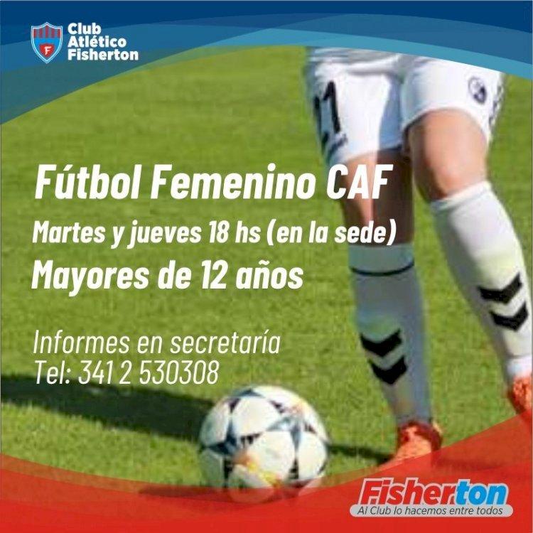 Fútbol Femenino en CAF