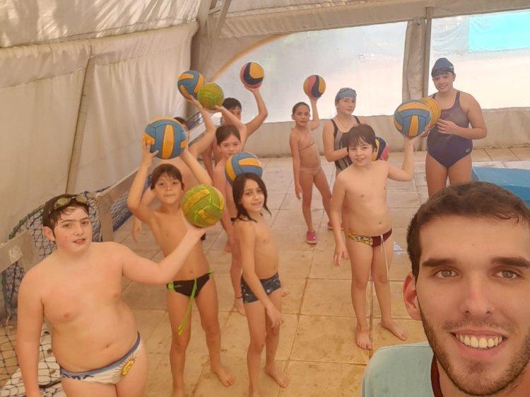 Waterpolo: los menores volvieron a entrenar