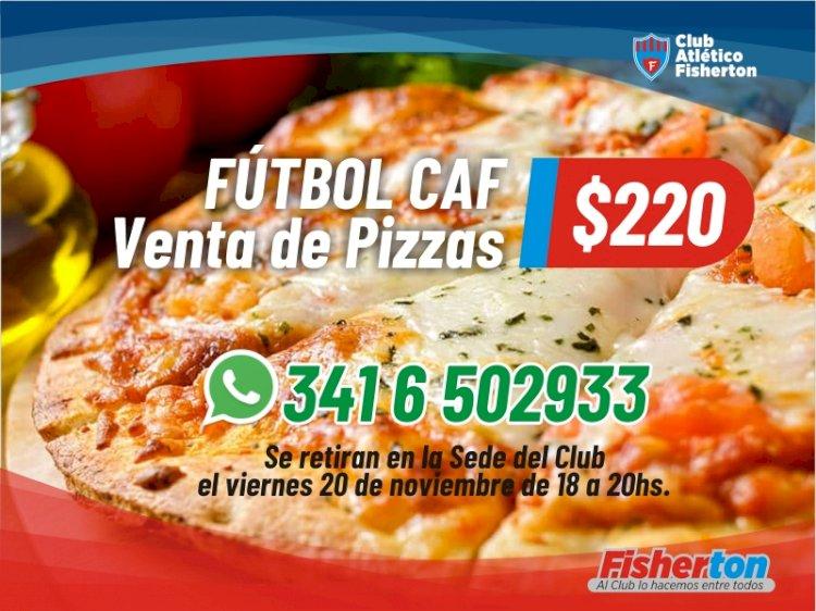 Venta de Pizzas de Fútbol