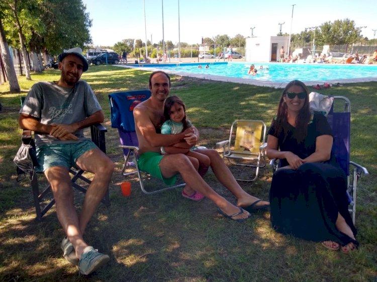La Familia del CAF disfruta del verano