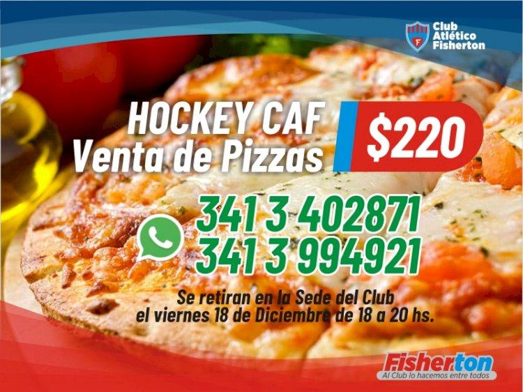 Nueva venta de pizzas de Hockey