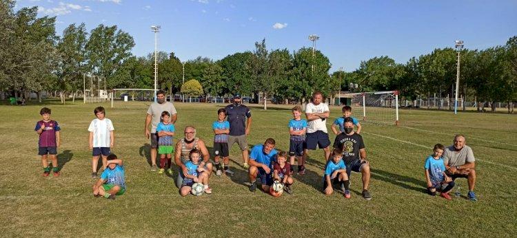 Fútbol Infantil despidió el año en familia
