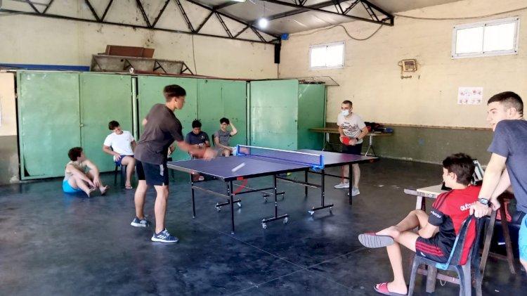 Se realizó el Torneo de Tenis de Mesa