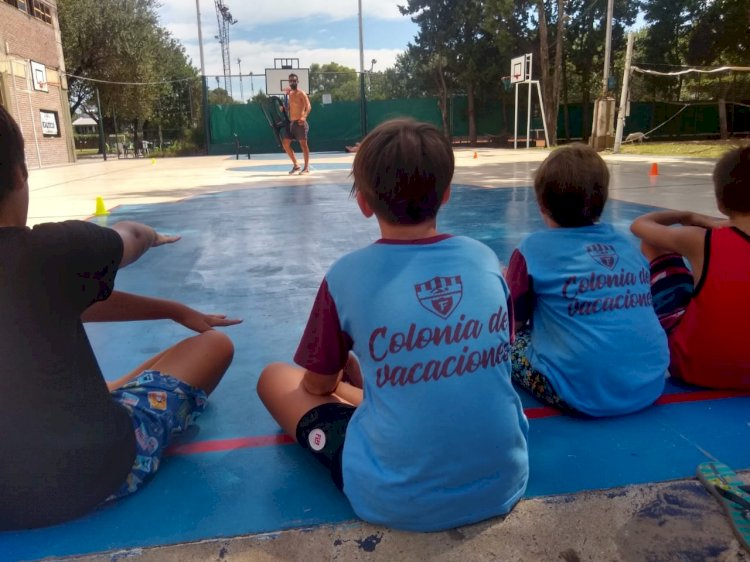 Colonia de Vacaciones: los chicos disfrutan del Verano