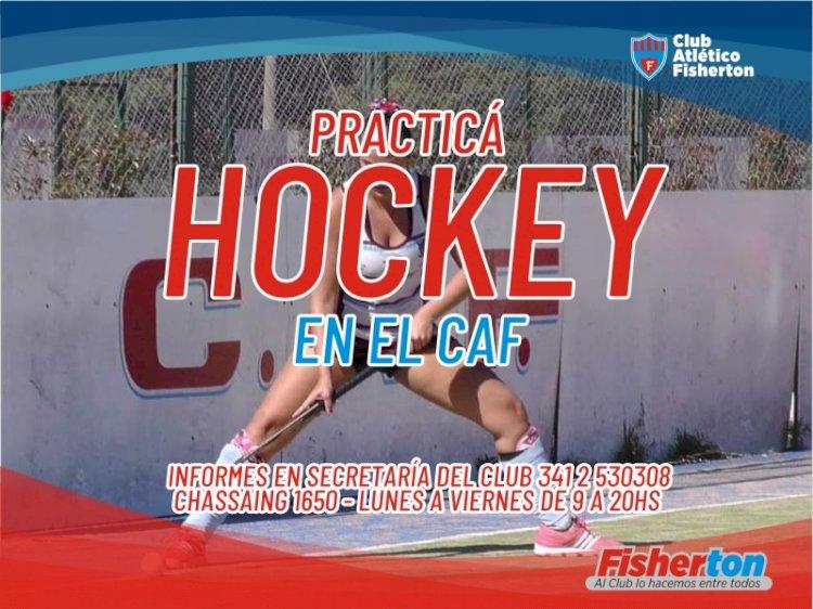 Practicá Hockey en CAF