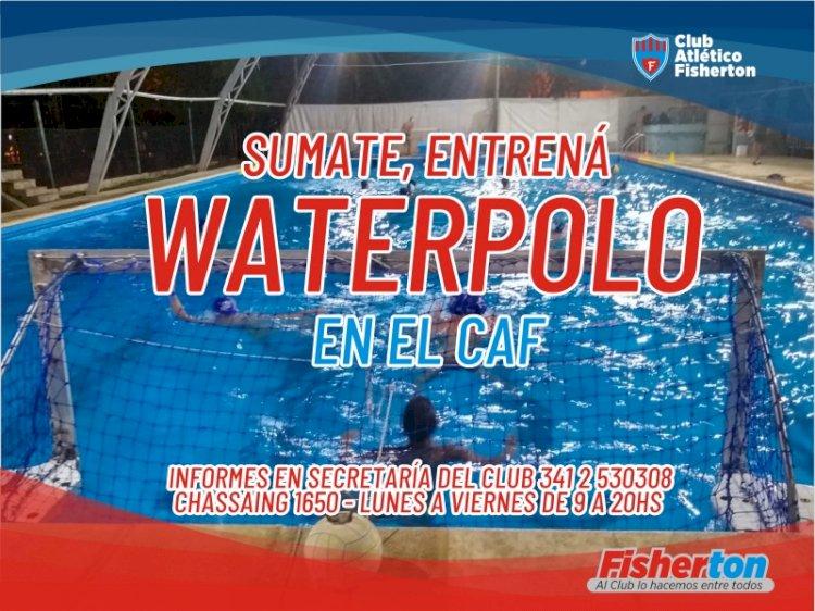 Sumate a Waterpolo!