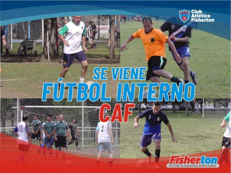 Se viene el Fútbol Interno!!!