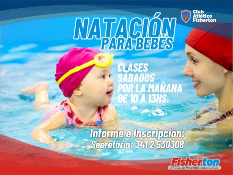 Natación para bebés en la PileCAF