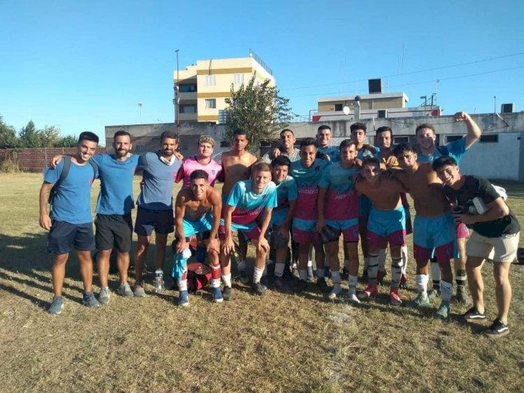 Fútbol: gran triunfo en el Anexo