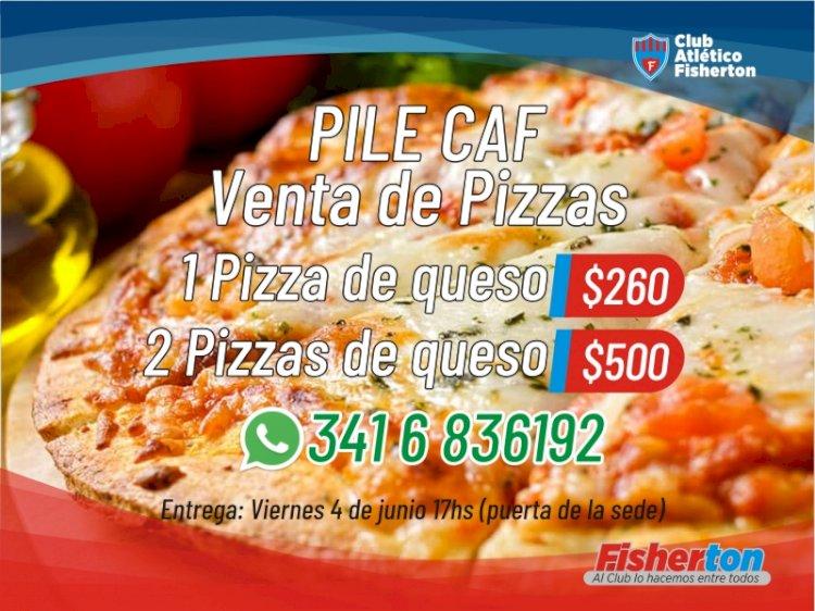 PileCAF: venta de pizzas