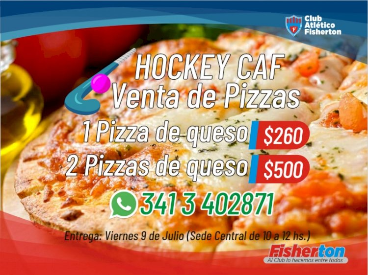 Venta de Pizzas de Hockey