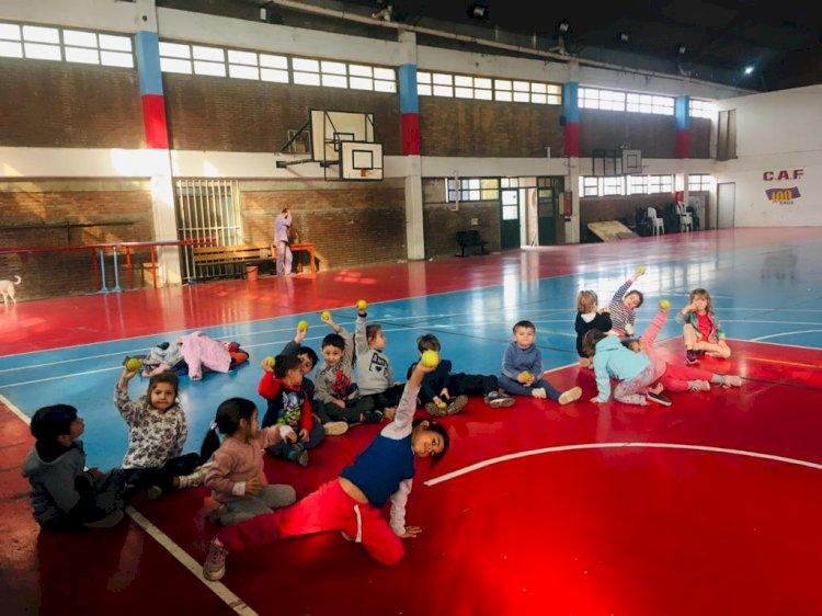 Comenzó la Escuela Deportiva de Vacaciones de Invierno