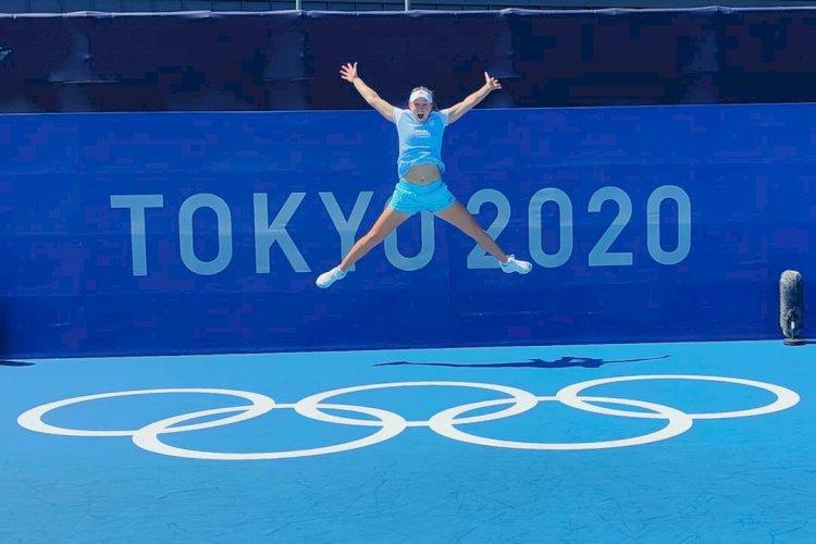 Nadia Podoroska debuta en los Juegos Olímpicos