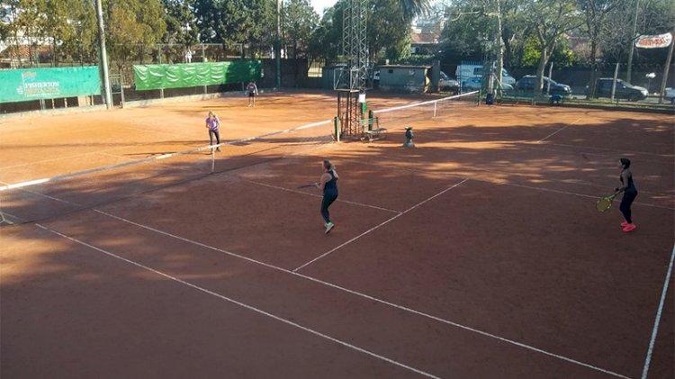 Fecha lista:  se programó el reinicio del Interclubes de Tenis