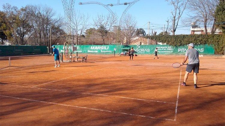 Tenis: Clase demostrativa gratuita en cancha