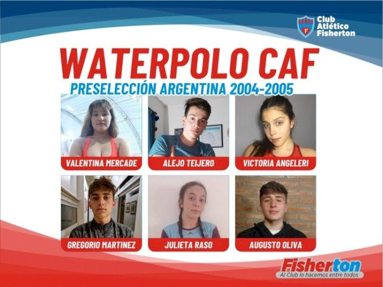 Waterpolo: convocados a la preselección nacional