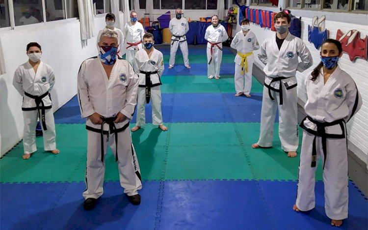 Práctica Taekwondo en Fisherton