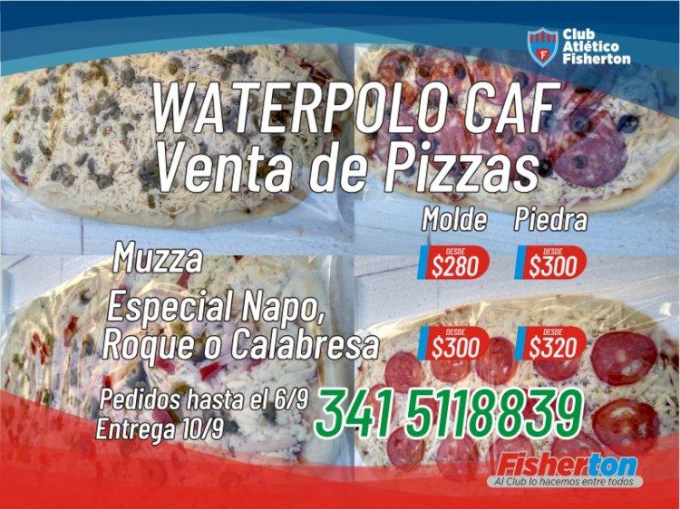 El Waterpolo vende las mejores pizzas