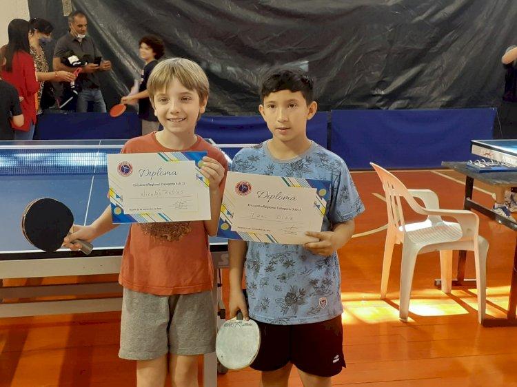 Participación en el Encuentro Regional de Tenis de Mesa