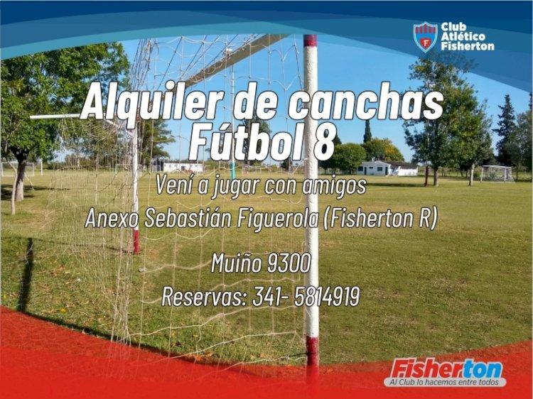 Vení a jugar al fútbol con tus amigos en Fisherton